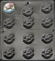 651 Small Rocking Horse Chocolate candy Mold