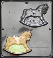 688 Rocking Horse Chocolate Candy Mold