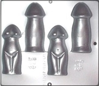 712 Penis Reverse Chocolate Candy Mold