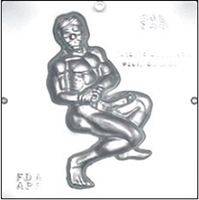 760 Sexy Naked Male Chocolate Candy Mold