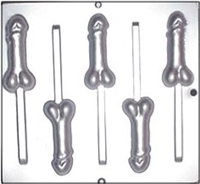 782 Penis Lollipop Chocolate Candy Mold