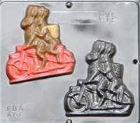 815 Motorcycle Bunnies Chocolate Candy Mold