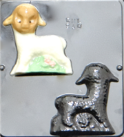 840 Lamb Assembly Chocolate Candy Mold