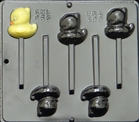 865 Duck Pop Lollipop Chocolate Candy Mold