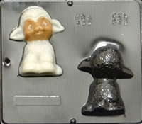 872 Lamb Assembly Chocolate Candy Mold
