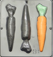 886 Carrots Chocolate Candy Mold