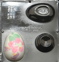 891 Egg Assembly with Stand Chocolate Candy Mold