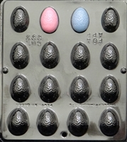 892 Egg Fancy Assembly Chocolate Candy Mold