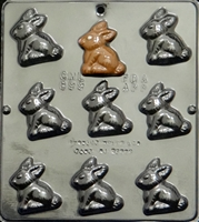 899 Bunny Chocolate Candy Mold
