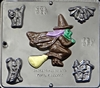 920 Halloween Assortment Chocolate Candy Mold