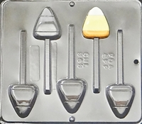 948 Candy Corn Lollipop Chocolate Candy Mold