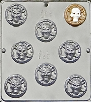 959 Pirate's Coin Chocolate Candy Mold