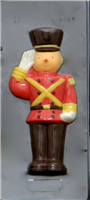 "B-9054 TOY SOLDIER FRONT 12 1/2"" CANDY MOLD"