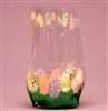 BAP-06-25 Easter Eggs printed cello bag. Qty. 25