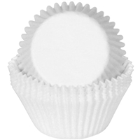 BC-03-50 White Standard Baking Cup 50 ct.