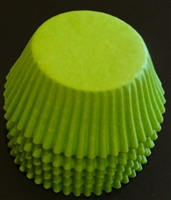 BC-35-50 Lime Green Standard Baking Cup 50 ct.