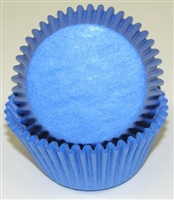 BC-37-50 Lt. Blue Standard Baking Cup 50 ct.