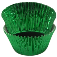 BCF-04-50 Green Foil Standard Baking Cup 50 ct.