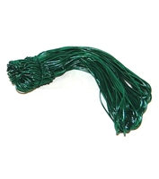 "BE-17Q Green Metallic Stretch Loop 19"" Quantity 500"