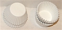 "CP-03-0250 #4 White candy cup.  1"" diameter, 3/4"" wall.  Qty 250"