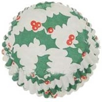"CP-15LQ #601 Holly Candy Cup. 1 1/4"" diameter, 3/4"" wall. Qty 1700"