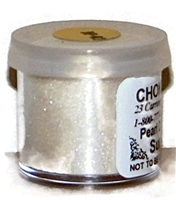 "DP-02 ""Super Pearl"" Luster Dusting Powder. 2 gram container."