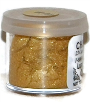 "DP-03 ""Pharaoh's Gold"" (Old Gold) Luster Dusting Powder. 2 gram container."