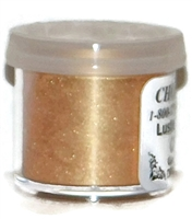 "DP-08 ""Toffee"" (Champagne) Luster Dusting Powder. 2 gram container."