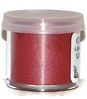 "DP-18 ""Red Plum"" (Raspberry) Luster Dusting Powder. 2 gram container."