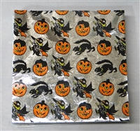 F469 Halloween Print Foil 4in. x 4in. Qty 125 sheets