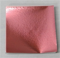 F525 Pink Foil 3in. x 3in. Qty 500 sheets