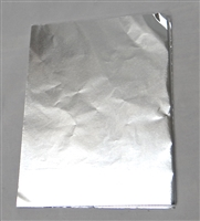 F95 Silver Foil 5 1/2in. X 7 1/4in.  Qty 125 sheets