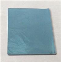 F98 Light Blue Foil 5 1/2in. X 7 1/4in. Qty 125 sheets