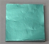 FD32 Dull Light Green Confectionery Foil 3in. x 3in. Qty 125 sheets