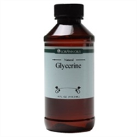 GL-01 Glycerin, Synthetic 99.7%. 4 ounce bottle.