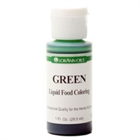 LFC-04 LorAnn Oils Green Liquid Food Coloring , 1 ounce
