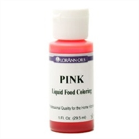 LFC-06 LorAnn Oils Pink Liquid Food Coloring , 1 ounce