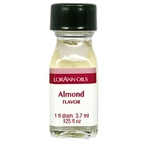 LO-01-12 Almond Oil Flavor. Qty 12 Dram bottles