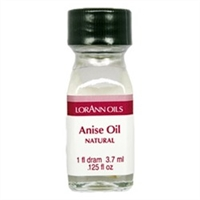 LO-03-12 Anise Oil, Natural. Qty 12 Dram  bottles