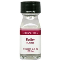 LO-15-12 Butter Flavor. Qty 12 Dram bottles