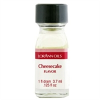 LO-21-12 Cheesecake Flavor. Qty 12 Dram bottles