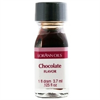LO-23-12 Chocolate Flavor. Qty 12 Dram bottles