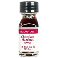 LO-24-24 Chocolate Hazelnut Flavor. Qty 24 Dram bottles