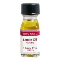LO-42-12 Lemon Oil, Natural. Qty 12 Dram bottles