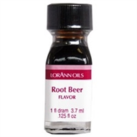 LO-65-12 Root Beer Flavor. Qty 12 Dram bottles