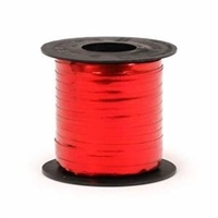 RMS-20 Red Metallic Ribbon Spool 3/16in. x 250yds.