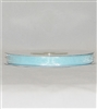"RN-03 Pale Blue sheer organza ribbon 1/4"" x 25yds."