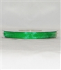 "RN-17 Emerald Green sheer organza ribbon 1/4"" x 25yds."