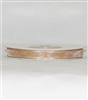 "RN-19 Toffee sheer organza ribbon 1/4"" x 25yds."