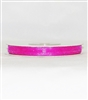 "RN-28 Hot Pink sheer organza ribbon 1/4"" x 25yds."